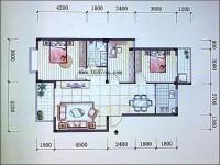 新罗区解放北路国际山庄3房2厅高档装修出售