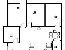 新罗区龙腾北路龙城春天3房2厅高档装修出售