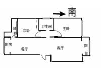 信州区三清山大道九州奥城2房2厅毛坯出售