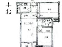 涧西区九都路中成九都城2房2厅毛坯出售