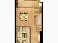 东城区建安大道瑞贝卡新天下一室 出售