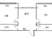 淇滨九江路九江帝景2房2厅简单装修出租