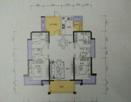 惠东县平山侨城水岸4房2厅毛坯出售(可改名)