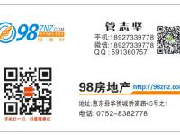 惠东县平山惠景花园4房2厅中档装修出售(复式楼)