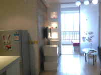 雨山九区湖南西路尚城国际公寓一室一厅精装一应俱全可短租