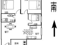 人流量超大世纪广场大三房新装修首租,办公居家皆可