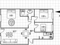 龙门花苑套间3房2厅毛坯送车库急售!
