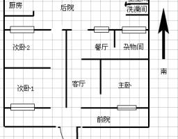 钦圣门方家弄3间1层简单装修出售