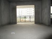 城北龙门北路水岸国际2楼3房2厅双阳台122平毛坯诚售