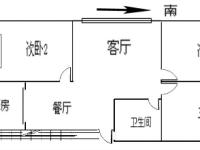 实验中学对面东方盛世3房2厅中档装修出售