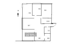 东城汉润大道与雪枫路交汇中央名邸三期4房2厅简单装修出售
